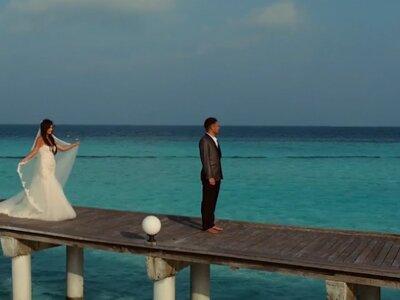 Bajecznie piękne wideo ślubne z Malediw! Będziecie zachwyceni!