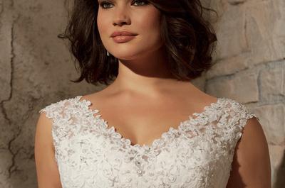 Plus size e Plus LINDA! Como escolher o vestido de noiva plus size perfeito!