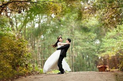 Cómo realizar una boda ecológica: ¡blanca, radiante y verde va la novia!