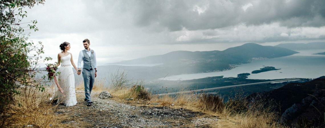 Уютный праздник в Черногории: свадьба Марии и Никиты