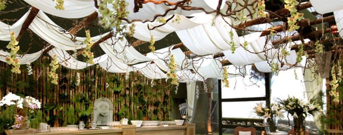 5 decoradores de casamento de Fortaleza: seu grande dia cheio de estilo, personalidade e beleza!