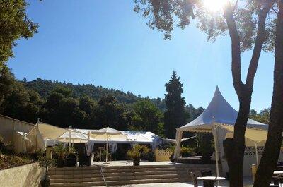 Mariage en plein air : Les Soléïades en Provence vont vous faire rêver
