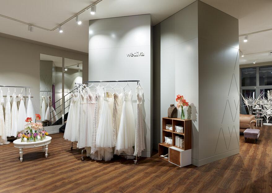 Brautkleidkauf bei Wediva - erleben Sie dieses ganz besondere Gefühl