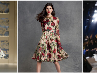 Las mejores propuestas para vestidos de fiesta del 2016. ¡Qué vivan los estampados!