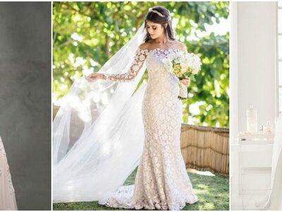 Vestidos de noiva ombro a ombro: elegância máxima