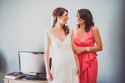6 cosas que no debe hacer la madre de la novia, ¡toma nota!