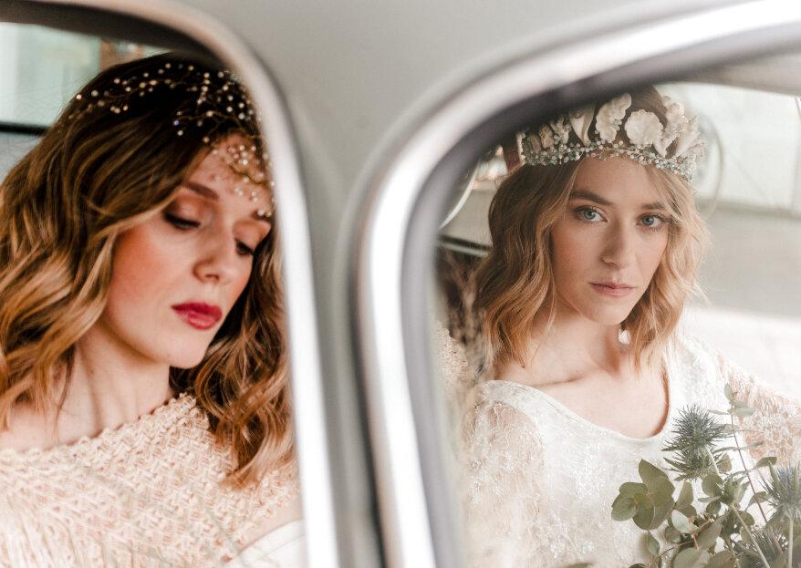 'Bride Between Cars': la sesión de novia que une tradición e innovación