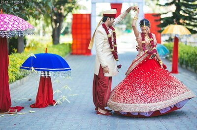 Amazing Real Wedding of Chandini and Akshay: The one that is filled with love