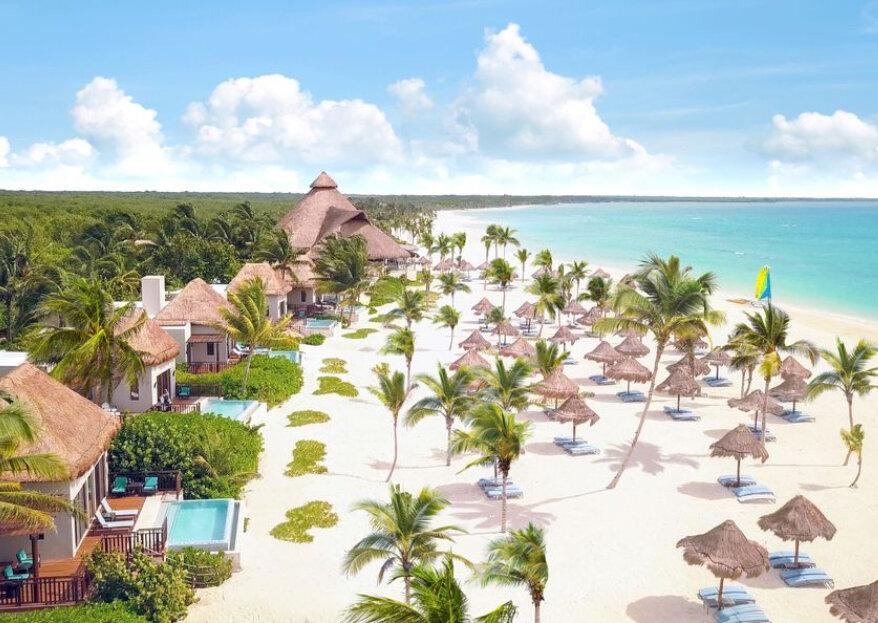 Fairmont Mayakoba celebra bodas en una de las playas más hermosas del Caribe