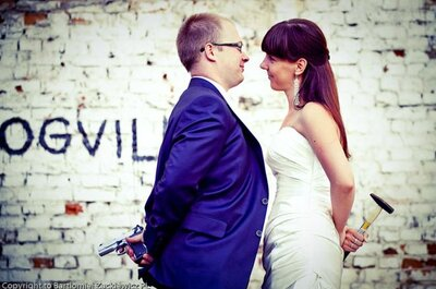 15 pomysłów na oryginalną sesję ślubną