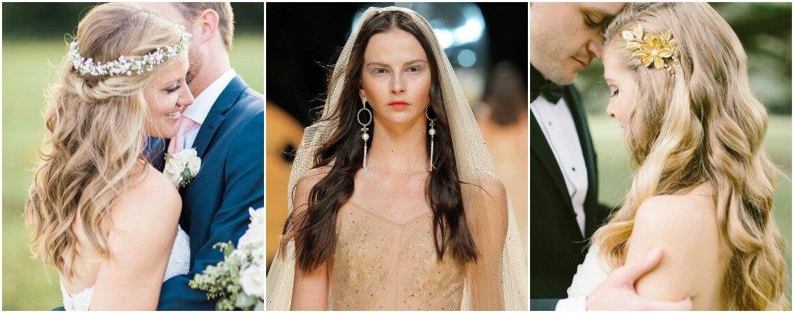 Bridal Style: Top Ways To Wear Your Hair Down On Your Wedding Day