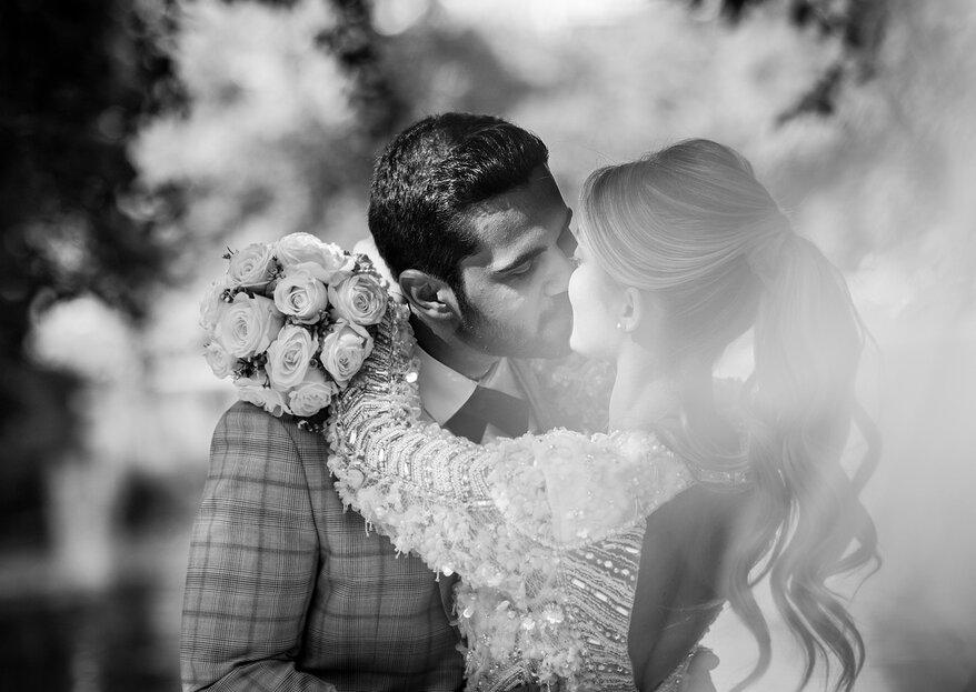 Hanna et Gary : un mariage parisien magique et majestueux