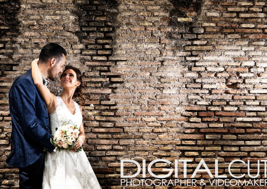 """Il film e le foto delle tue nozze con un """"taglio"""" innovativo: scopri Digital Cut"""