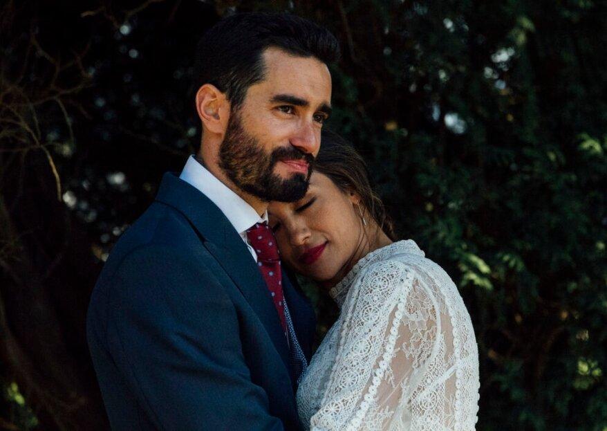 El retrato: una fotografía imprescindible para tu álbum de boda