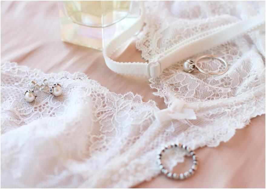 Bruidslingerie: zo kies je het ondergoed voor onder jouw trouwjurk!