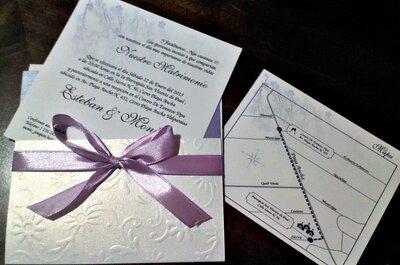 3 invitaciones de boda finas y originales