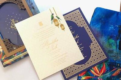 3 tips for choosing invitation cards for a winter wedding
