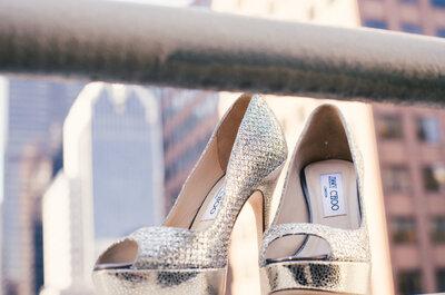 La ecuación perfecta en rosa, dorado y chevron: Inspírate en el estilo único de esta Real Wedding