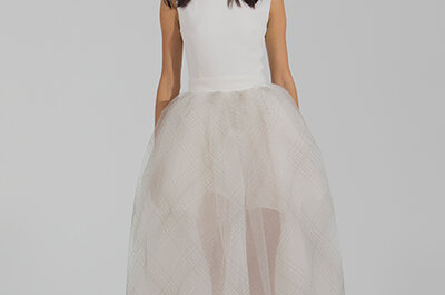 Houghton Bride´s Fall/Winter 2015 Bridal Collection: Cool Chic