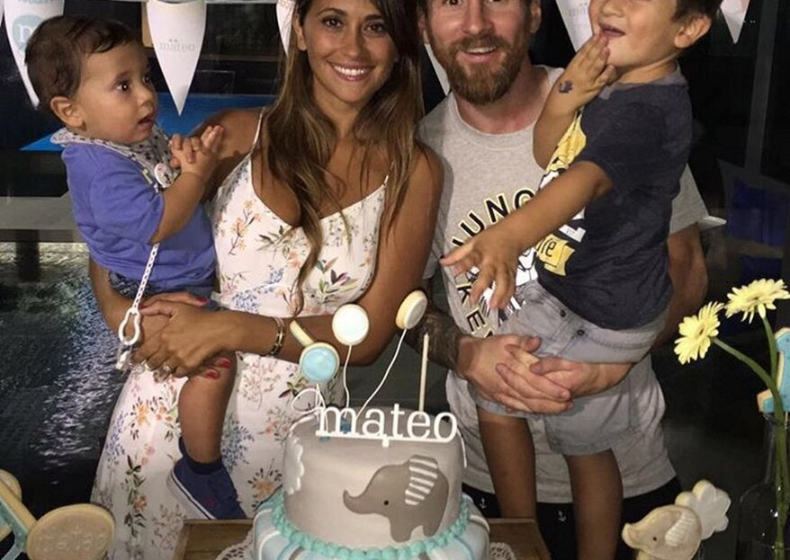 Messi e Antonella esperam o terceiro filho! Veja a fotografia ternurenta com que deram a notícia