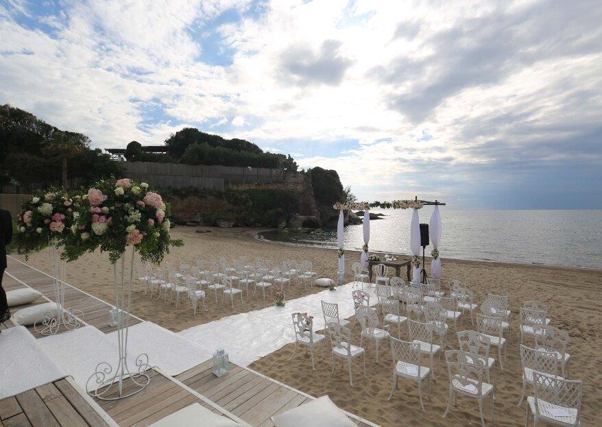 Nabilah Luxury Beach Wedding, per nozze da sogno in riva al mare e con tutti i comfort che potete desiderare!