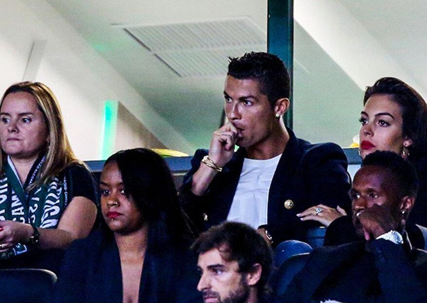 O anel de Georgina: será que Cristiano Ronaldo já fez o pedido?