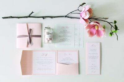 Die schönsten Hochzeitseinladungen in Zürich und Umgebung