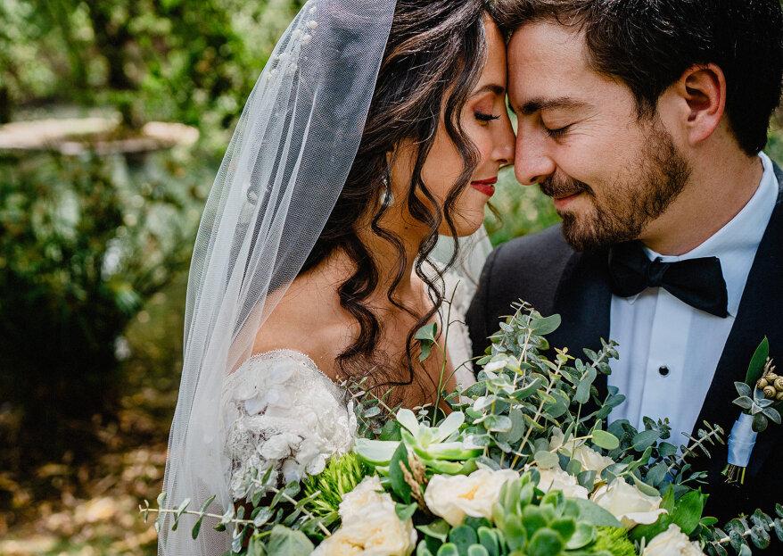 Un fiel reflejo de las tendencias: la boda de Mónica y Guillermo