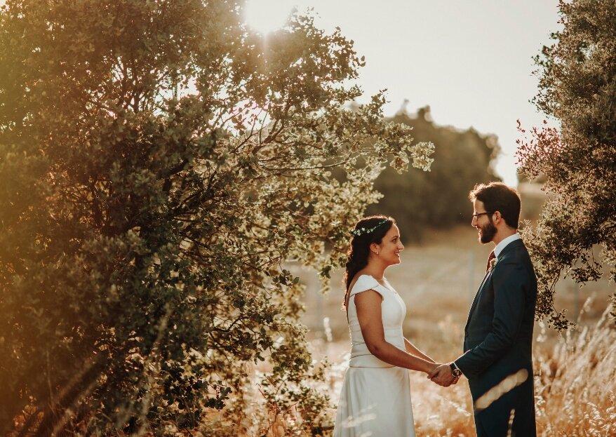 Máxima felicidad: la boda de Paloma y Alfredo