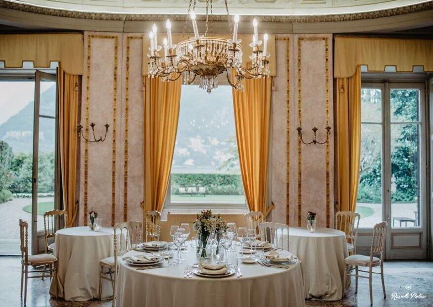 Le Muse Banqueting vi apre le porte di tre location da favola per le vostre nozze!