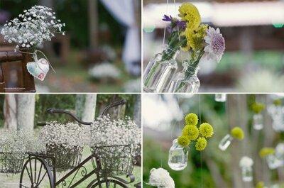 Tendências decoração de casamento 2013