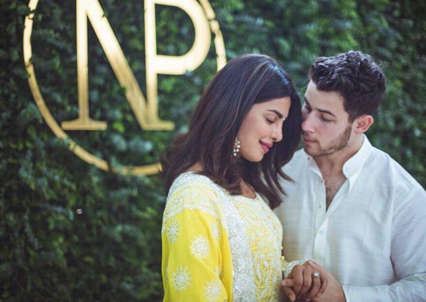 Nick Jonas oficializou noivado com Priyanka Chopra na Índia