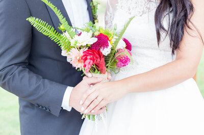 Matilde & André aceitaram o compromisso: ser felizes para o resto das suas vidas!