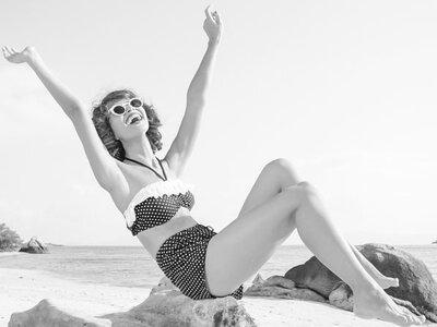 Die Geschichte des Bikinis! Welchen tragen Sie in Ihren Flitterwochen?