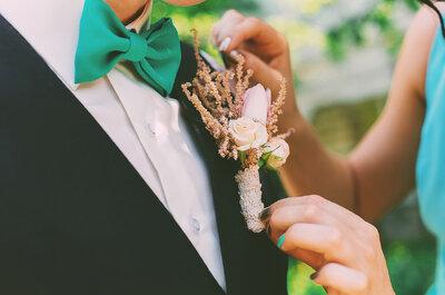 Des fleurs pour accessoiriser à la perfection votre tenue de marié !
