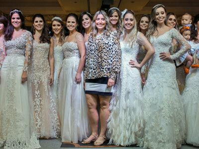 Desfile de comemoração dos 1000 vestidos de noiva da Carol Hungria: modelos mega especiais!