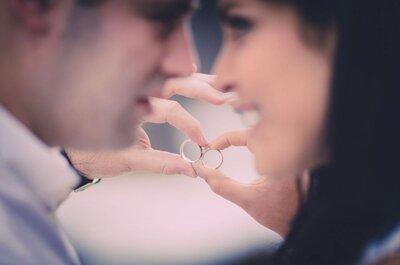 Aros de matrimonio para novios diferentes: 13 opciones únicas para tu alianza