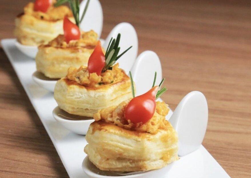 Buffet Camila Arruda: as maravilhas mais originais e sofisticadas em um cardápio que vai deliciar todos!
