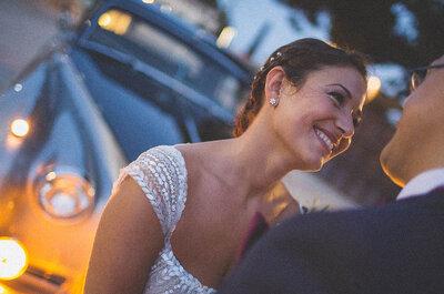 Mensaje en una botella: la romántica boda de Zaida y Tarek