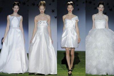 Crisálida: la colección de novias 2014 de Miquel Suay