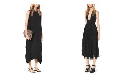 Черное вечернее платье 2015: магия и элегантность
