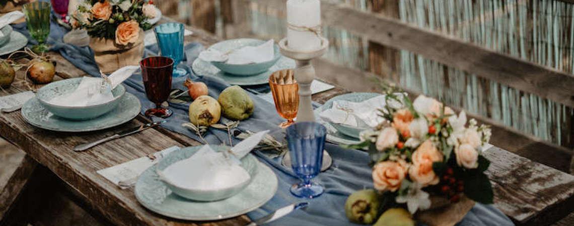 Consigli per un menú di nozze autunnale