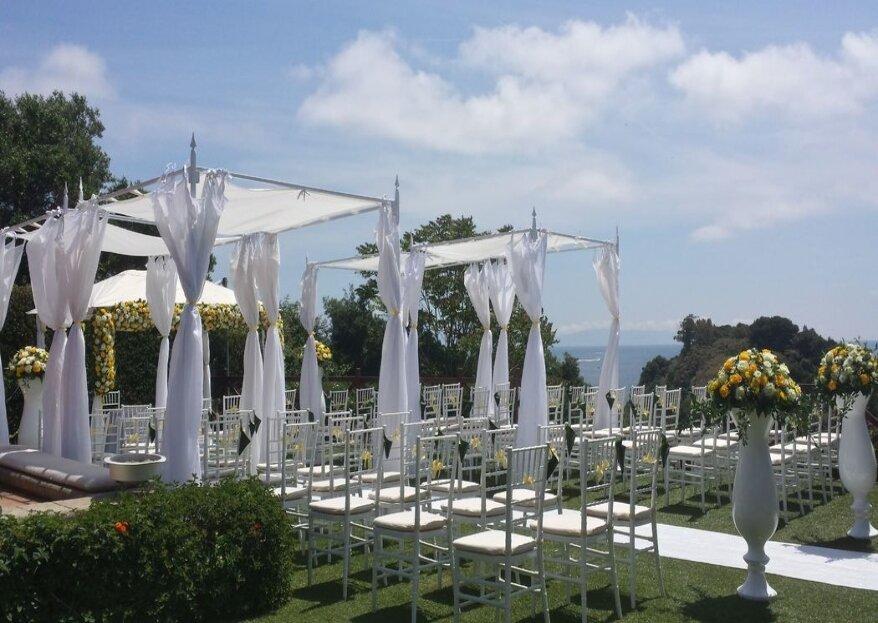 Villa Mirabilis, un angolo di paradiso affacciato sul mare dove unirvi in matrimonio!