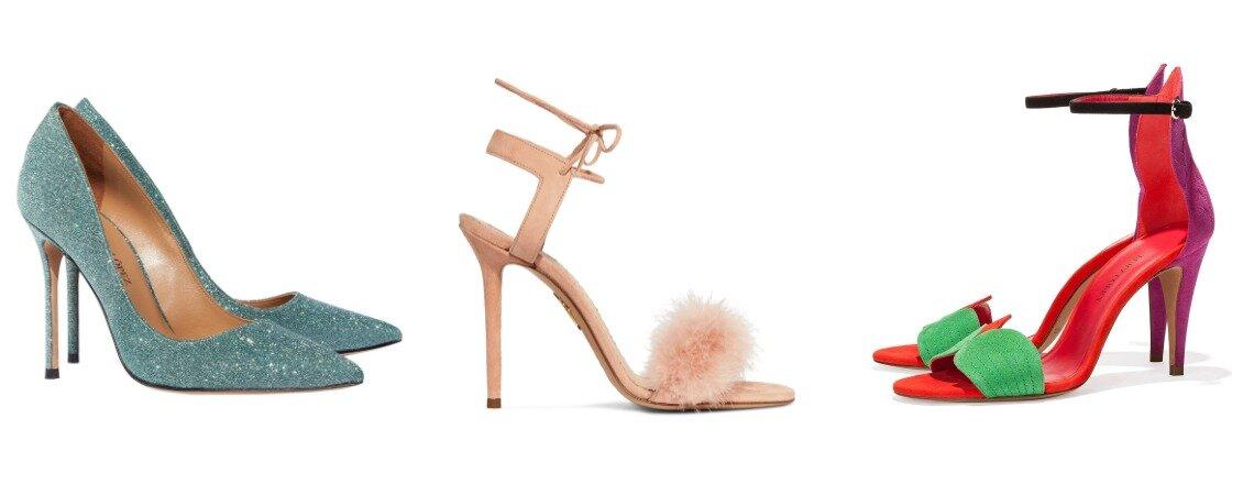 Zapatos de novia de color: Dale personalidad a tu look nupcial