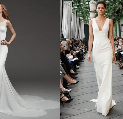 70 Vestidos De Novia Sencillos Los Más Bonitos Para 2020