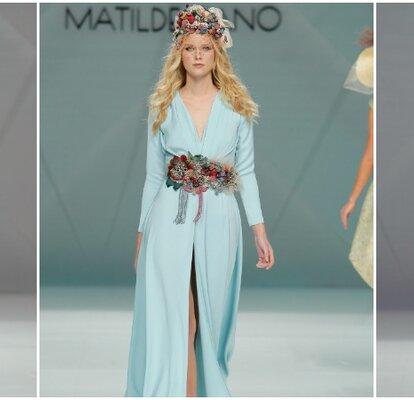 17c519b6cf Vestidos de fiesta Matilde Cano 2017  La magia de las flores y el color para