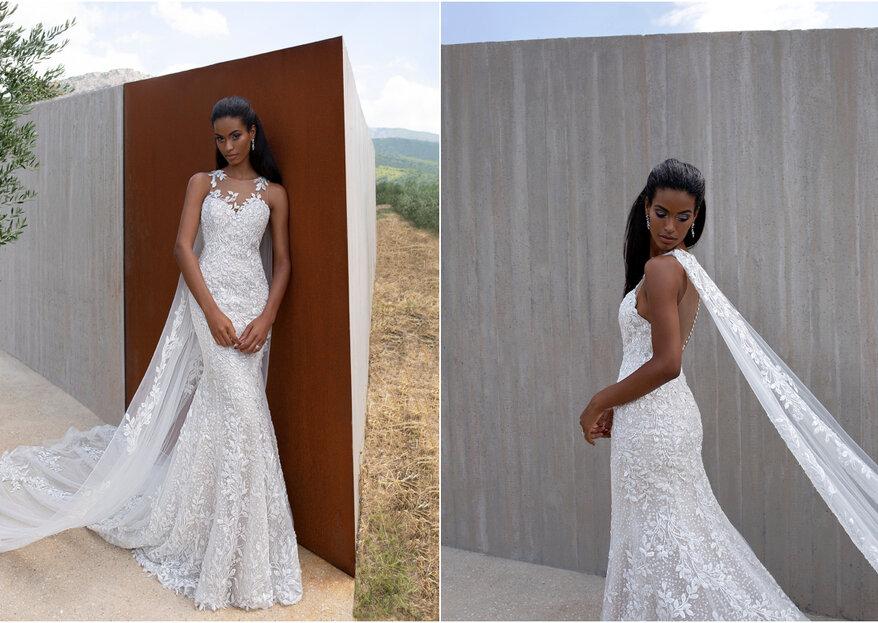Odkryj #GlamWildFree sesję sukien ślubnych od Demetriosa