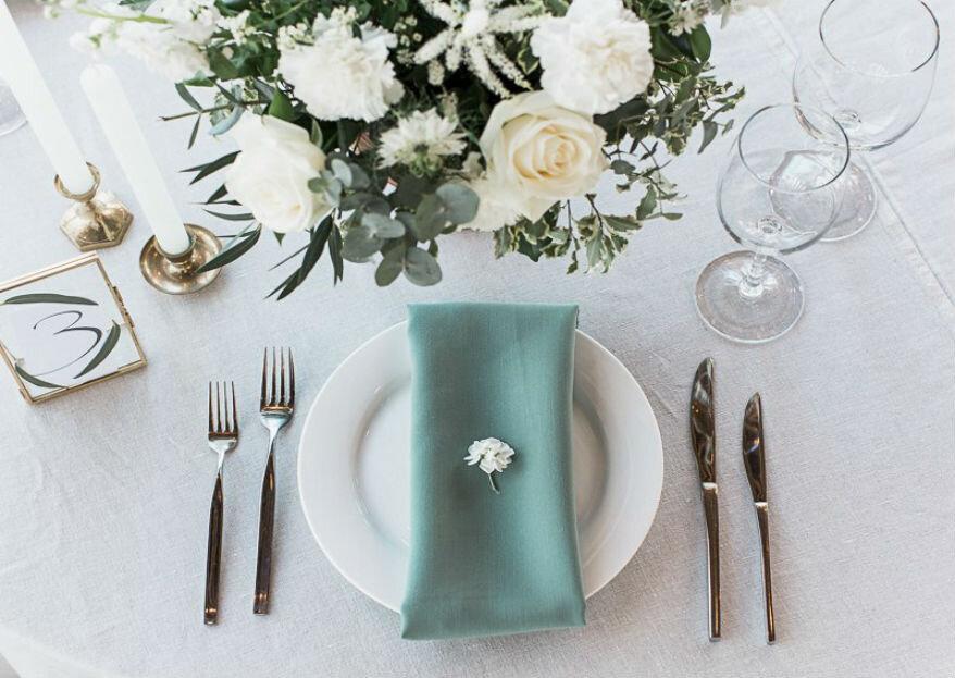 Как выбрать цвета для вашей свадьбы: 5 основных принципов!