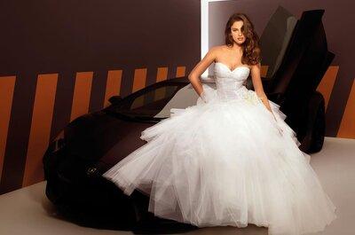 Vestidos de novia Alessandro Angelozzi 2013 modelados por Irina Shayk