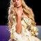 Robe de mariée Princesse 18e dorée